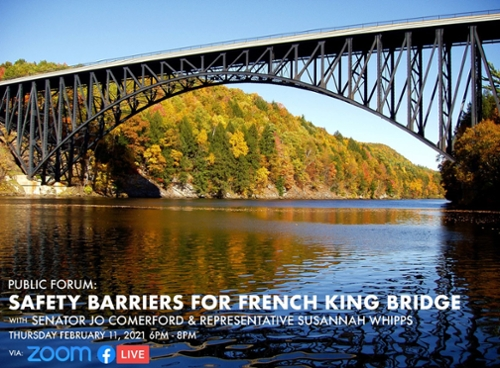 Safety Barriers for the French King Bridge - public forum 02/11/21